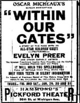 Within Our Gates - Film (1920)